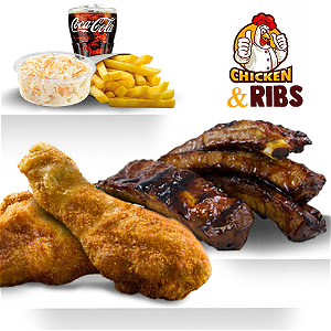 Foto Ribs&Chicken For Two