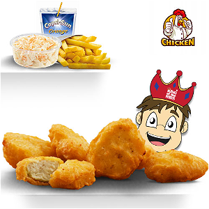 Foto Nuggets 10st  Kindermenu.